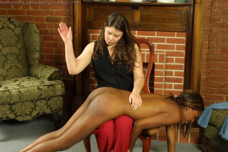 Spanking black girls booty