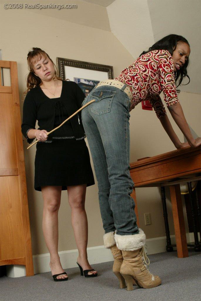 Firm Hand Spanking - Tanya Carter - Principals Office - K