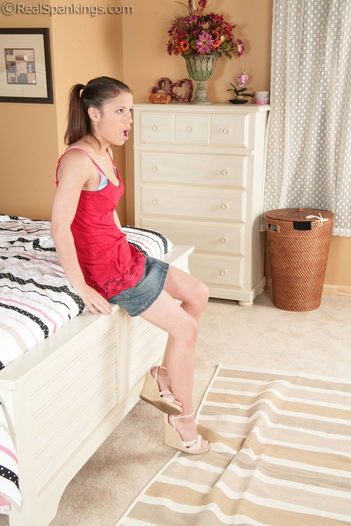 Real Spankings - Erin Punished With The Belt - 147 Photos