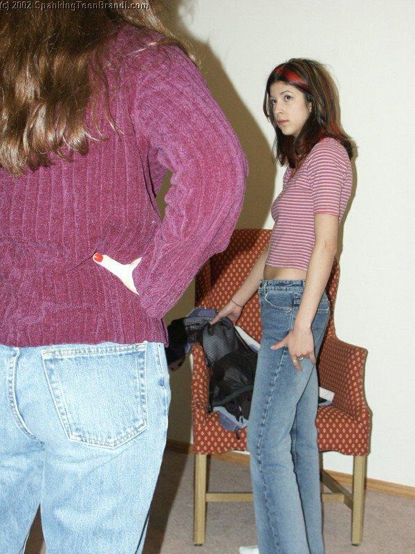 Teenager Spanking