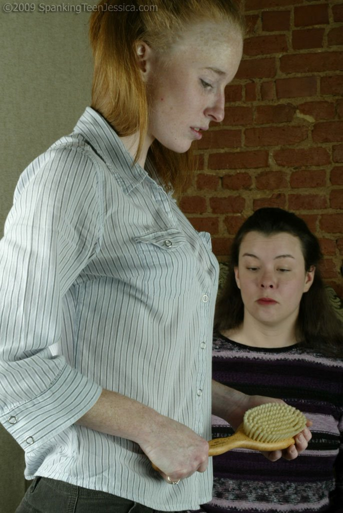 Spanking Teen Jessica - Hairbrush Otk - 92 Photos