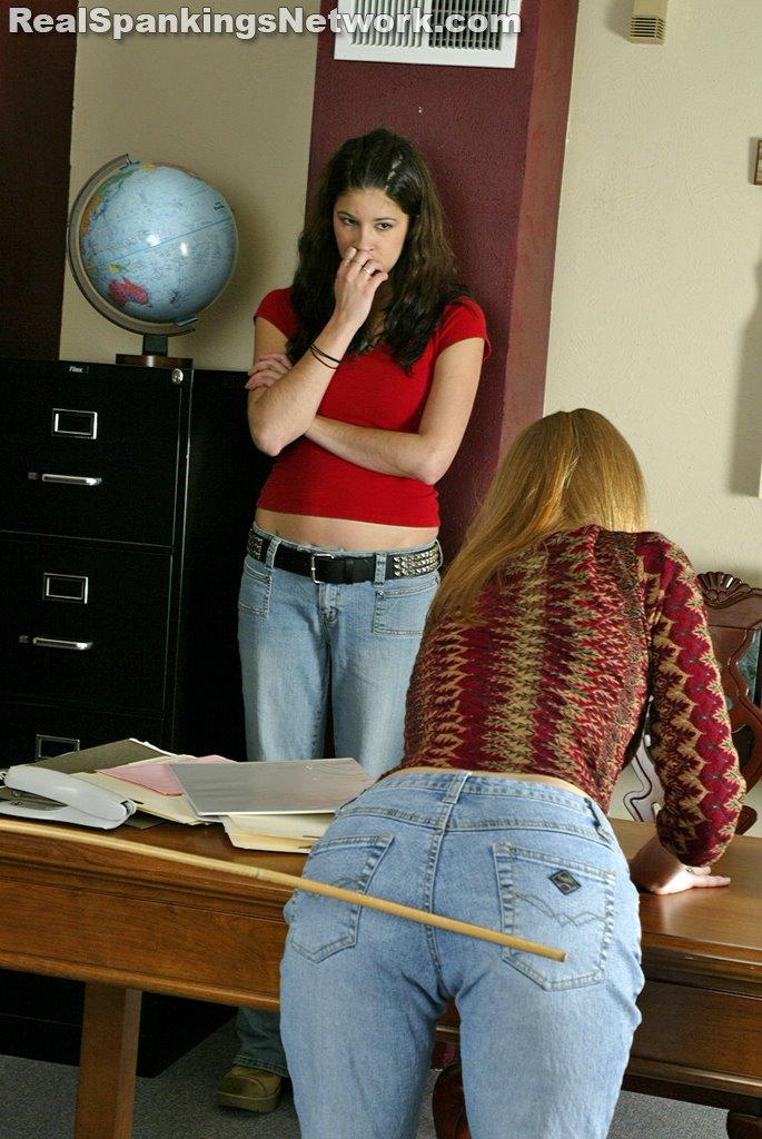 Teen Girl Spanking