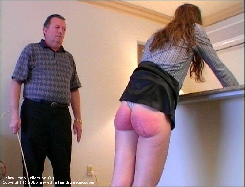 Watch Mature Sandra Gets Her Big Bare Bottom Caned