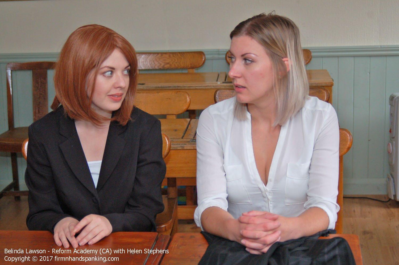 Firm Hand Spanking - Belinda Lawson & Helen Stephens