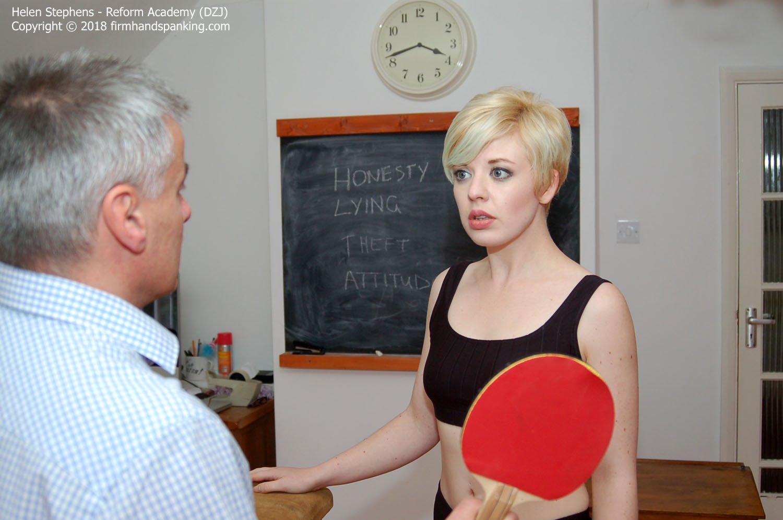 Firm Hand Spanking - Helen Stephens - Reform Academy - Cm