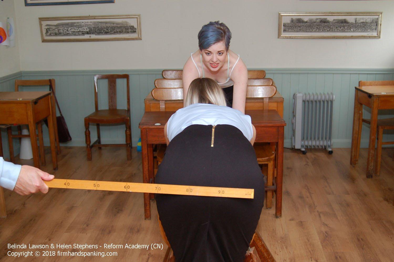 Firm Hand Spanking - Belinda Lawson - Reform Academy - Da