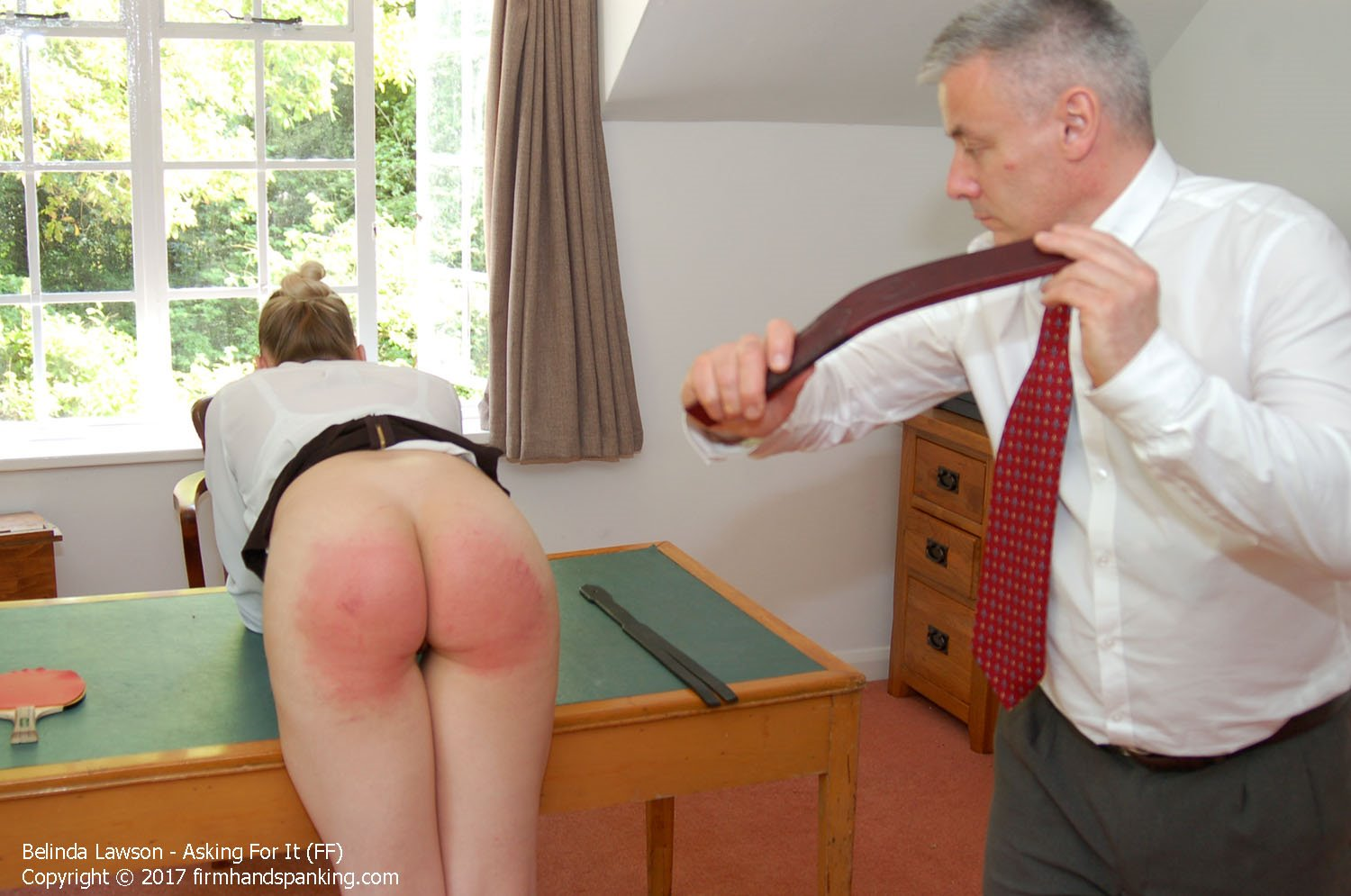 For naughty wife ping pong paddles spanking