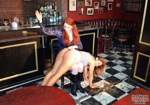 Spanking Veronica Works - Spanking In The Bar - image 8