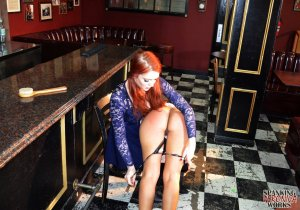 Spanking Veronica Works - Spanking In The Bar - image 5