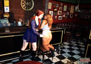Spanking Veronica Works - Spanking In The Bar - image 2