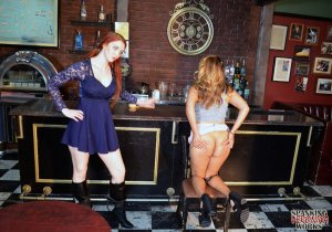 Spanking Veronica Works - Spanking In The Bar - image 4