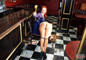 Spanking Veronica Works - Spanking In The Bar - image 16