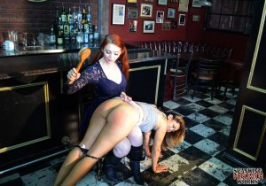 Spanking Veronica Works - Spanking In The Bar - image 15