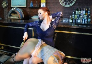 Spanking Veronica Works - Spanking In The Bar - image 6
