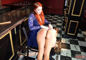 Spanking Veronica Works - Spanking In The Bar - image 17