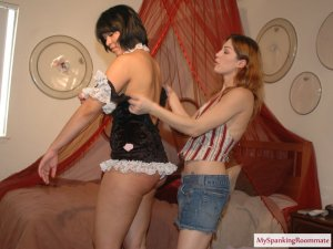 My Spanking Roommate - Meet The Maid - image 14