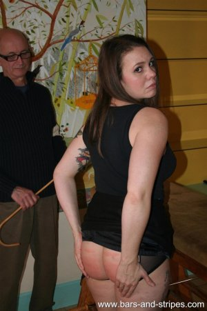 Bars and Stripes - Amelia And Aleesha Caned Part Two - image 9
