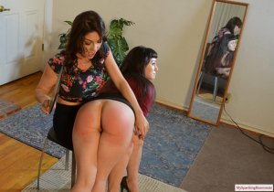 My Spanking Roommate - Kay Teaches Elori How To Be Her New Roommate - image 4