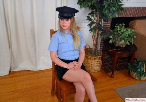 My Spanking Roommate - Cop Stevie Spanked For Writing Tickets - image 6