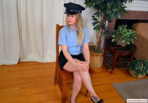 My Spanking Roommate - Cop Stevie Spanked For Writing Tickets - image 4