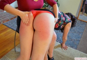 My Spanking Roommate - Elori Spanks Kay For Using Clothes - image 6