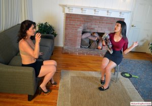 My Spanking Roommate - Elori Spanks Kay For Using Clothes - image 5