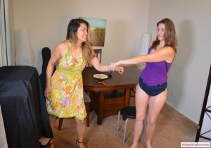 My Spanking Roommate - Joy Luck Spanked For Bad Cooking - image 17