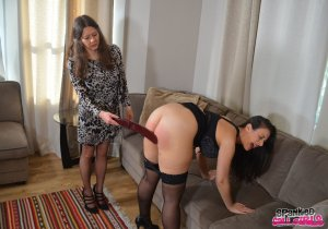 Spanked Call Girls - Sarah Punished For Moonlighting - image 9