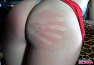 Spanked Call Girls - Rachel Spanked For Stealing Client Again - image 3