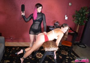 Spanked Call Girls - Rachel Spanked For Stealing Client Again - image 15