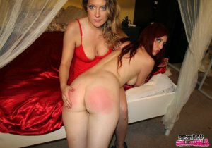 Spanked Call Girls - Audrey Tate Spanks Client Who Can't Pay - image 7