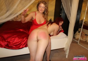 Spanked Call Girls - Audrey Tate Spanks Client Who Can't Pay - image 16
