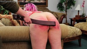 Real Spankings - Paddled At School And Spanked At Home (part 2 Of 2) - image 10