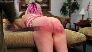 Real Spankings - Paddled At School And Spanked At Home (part 2 Of 2) - image 5