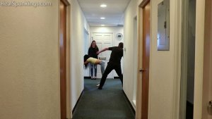 Real Spankings - Partners In Crime Paddled Together (part 1 Of 2) - image 6