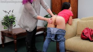 Real Spankings - Zero Tolerance Means A Spanking (part 1 Of 2) - image 9