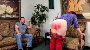 Real Spankings - Betty Is Punished For Lack Of Respect (part 2 Of 2) - image 9