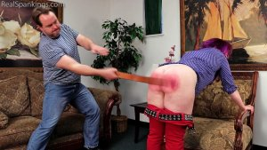 Real Spankings - Betty Is Punished For Lack Of Respect (part 2 Of 2) - image 4