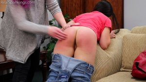 Real Spankings - Zero Tolerance Means A Spanking (part 1 Of 2) - image 7