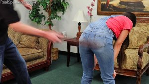 Real Spankings - Zero Tolerance Means A Spanking (part 2 Of 2) - image 4