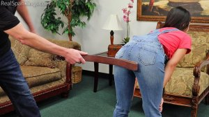 Real Spankings - Zero Tolerance Means A Spanking (part 2 Of 2) - image 8