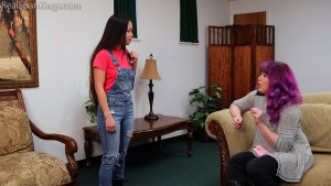 Real Spankings - Zero Tolerance Means A Spanking (part 1 Of 2) - image 1