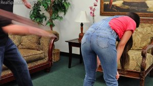 Real Spankings - Zero Tolerance Means A Spanking (part 2 Of 2) - image 5