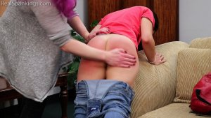 Real Spankings - Zero Tolerance Means A Spanking (part 1 Of 2) - image 6