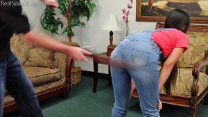 Real Spankings - Zero Tolerance Means A Spanking (part 2 Of 2) - image 6