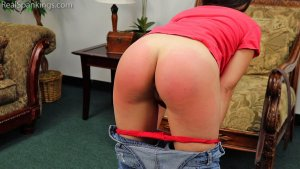 Real Spankings - Zero Tolerance Means A Spanking (part 2 Of 2) - image 7