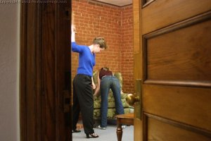 Real Spankings - Amy's Strapping - image 9