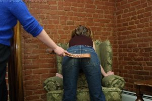 Real Spankings - Amy's Strapping - image 17