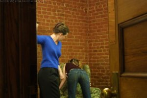 Real Spankings - Amy's Strapping - image 5