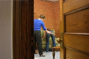 Real Spankings - Amy's Strapping - image 16